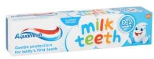 AquaFresh Milk Teeth: best toothpaste for children