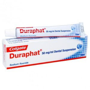 Colgate Duraphat: best toothpaste for high fluoride