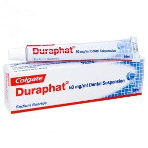 Colgate Duraphat: best toothpaste for high fluoride