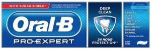 Oral B pro Expert: Best Toothpaste all round